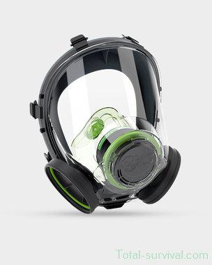 BLS 5250 Volgelaatsmasker / Gasmasker met 60MM schroefdraad