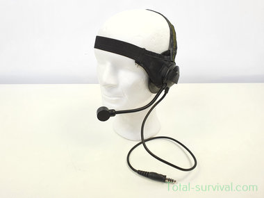 Z-Tactical zSelex TASC1 headset Z028, Zwart, ICOM aansluiting