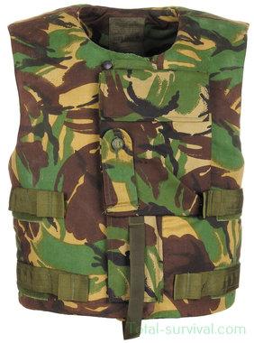 Brits Scherfwerend vest met body armour fillers L/W