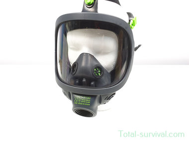 BLS 3150 Volgelaatsmasker / Gasmasker met 40MM EN 148-1 schroefdraad