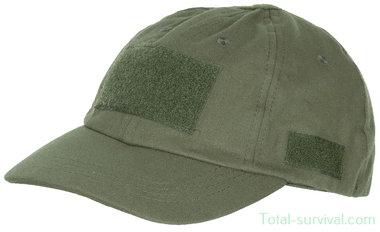 MFH US operations cap met velcro, legergroen, verstelbaar