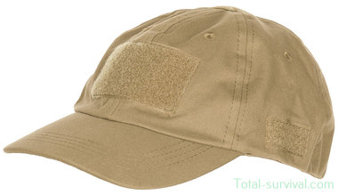 MFH US operations cap met velcro, coyote tan, verstelbaar