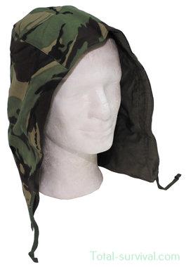 GB hood, DPM camo, for combat jacket