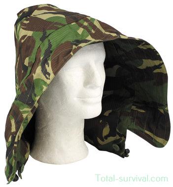 GB hood, DPM camo, ripstop, for Smock jacket