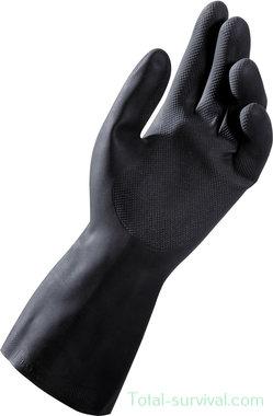 Mapa Alto Plus 260 heavy duty handschoen, natuurrubber, zwart
