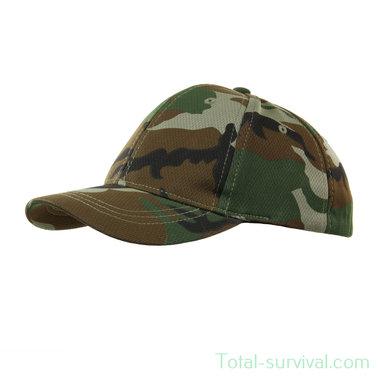 101 Inc Kinder baseball cap, woodland camo