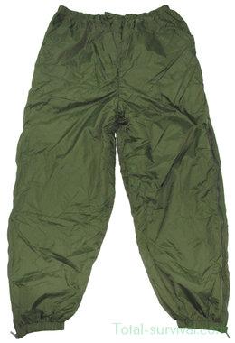 Britse thermo-overbroeken, 2-zijdig, legergroen/khaki