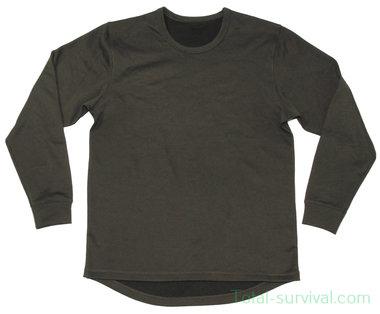 Britse thermisch shirt, long sleeve, legergroen