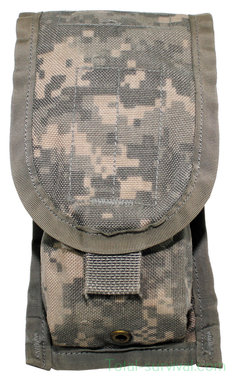 US M-4 double magazine pouch, MOLLE II, UCP / ACU AT-digital
