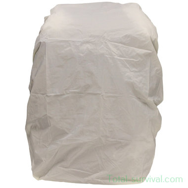 US Arctic backpack cover winter white, 60L adjustable