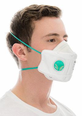 BLS 860 Mondmasker FFP3 NR D met ademventiel, CE 0426