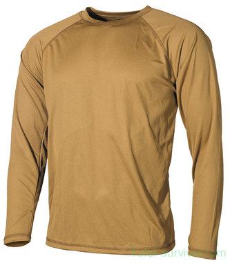 MFH US onderhemd, lange mouw, level I, Gen III, coyote tan