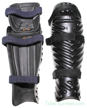Deenside Riot Gear scheenbeen en kniebeschermers hardshell klasse II