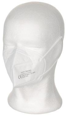 MDP Mondmasker KN95 wit FFP2 NR, EN 149:2001+A1:2009, CE 2163
