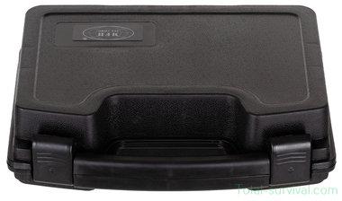 MFH Pistoolkoffer compact, kunststof, afsluitbaar, zwart
