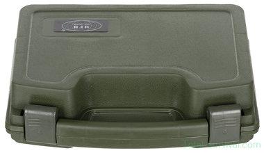 MFH Pistoolkoffer compact, kunststof, afsluitbaar, olijfgroen