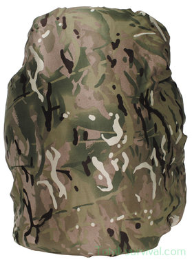 GB cover for backpack, small, MTP camo