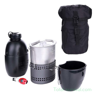 BCB Dragon cooking set, black pouch CN017B