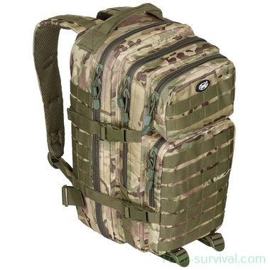 MFH US Rugzak 30l, Assault I, Operation-camo