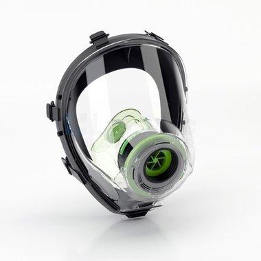 BLS 5150 Volgelaatsmasker / Gasmasker met 40MM EN 148-1 schroefdraad