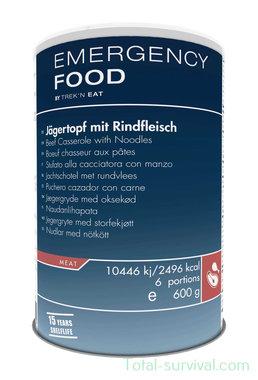 Trek 'n Eat, Emergency Food Jachtschotel met rundvlees 600G blik