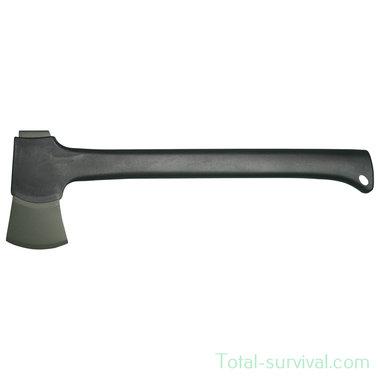 Mil-tec 445 Plus outdoor bijl groot zwart