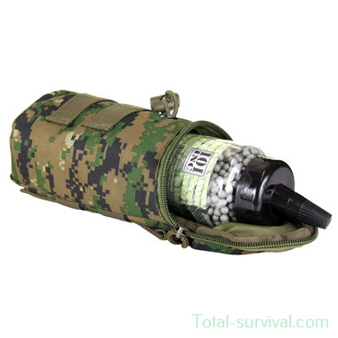 101 Inc Molle pouch airsoft BB fles MARPAT digital woodland