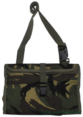 GB lightweight pouch, carrier M1621, data-terminal, Woodland DPM