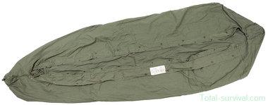 US army M-1945 Slaapzak hoes, waterafstotend, olijfgroen