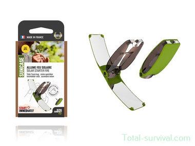 Solar Brother SunCase spiegel groen V2