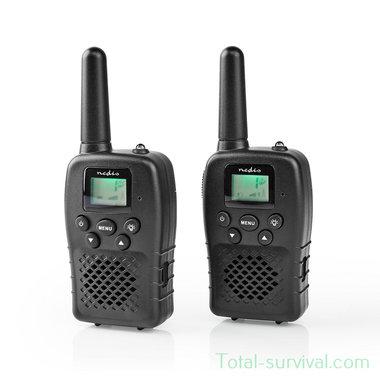 Nedis TK1000 PTT/VOX communication portofoon set, tot 10 km