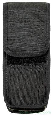 Britse politie draagtas Type II voor drinkfles met riembevestiging, nylon, zwart