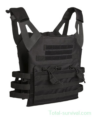 Mil-tec Plate carrier vest Gen II, zwart