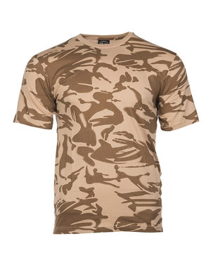 Mil-tec tactical T-Shirt, korte mouw, desert DPM