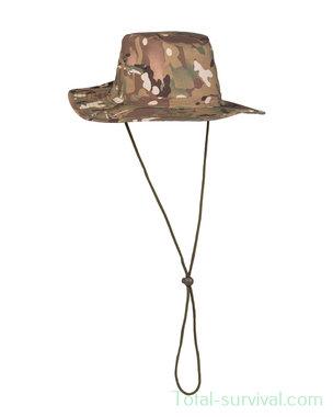Mil-tec bush hoed met drukknop aan de zijkanten, MTP multicam