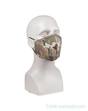 Mil-tec herbruikbaar mondmasker, wide-shape, ripstop, MTP Multicam