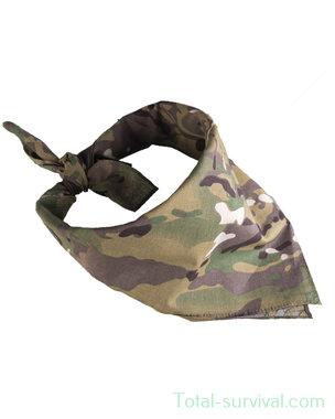 Mil-tec bandana / halsdoek, 54x54cm, MTP Multicam
