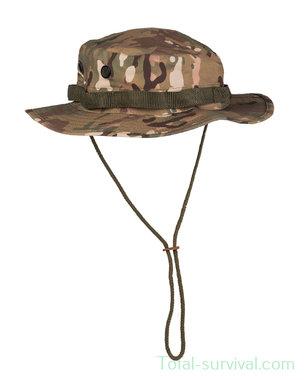Mil-tec US GI Bush Hat, kinriem, GI Boonie, MTP Multicam