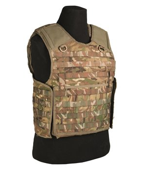 British army Osprey MKIV cover body armour vest, Assault , MTP camo