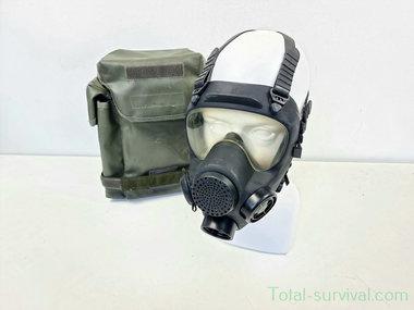 ARFA ANP-VP F1 Volgelaatsmasker / Gasmasker met  Tas, zwart