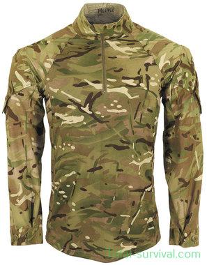 Britse leger Combat Shirt longsleeve,