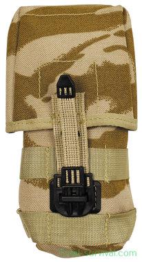 Britse koppeltas MOLLE Ammunition Pouch SA80, Desert DPM
