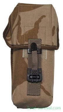 Britse koppeltas MOLLE Ammunition Pouch Osprey MK2, Desert DPM