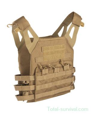 Mil-tec Plate carrier vest Gen II, coyote tan