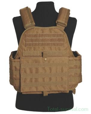 Mil-tec Plate carrier vest, coyote tan