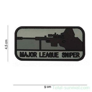 "101 INC 3D PVC patch "" major league sniper dark """